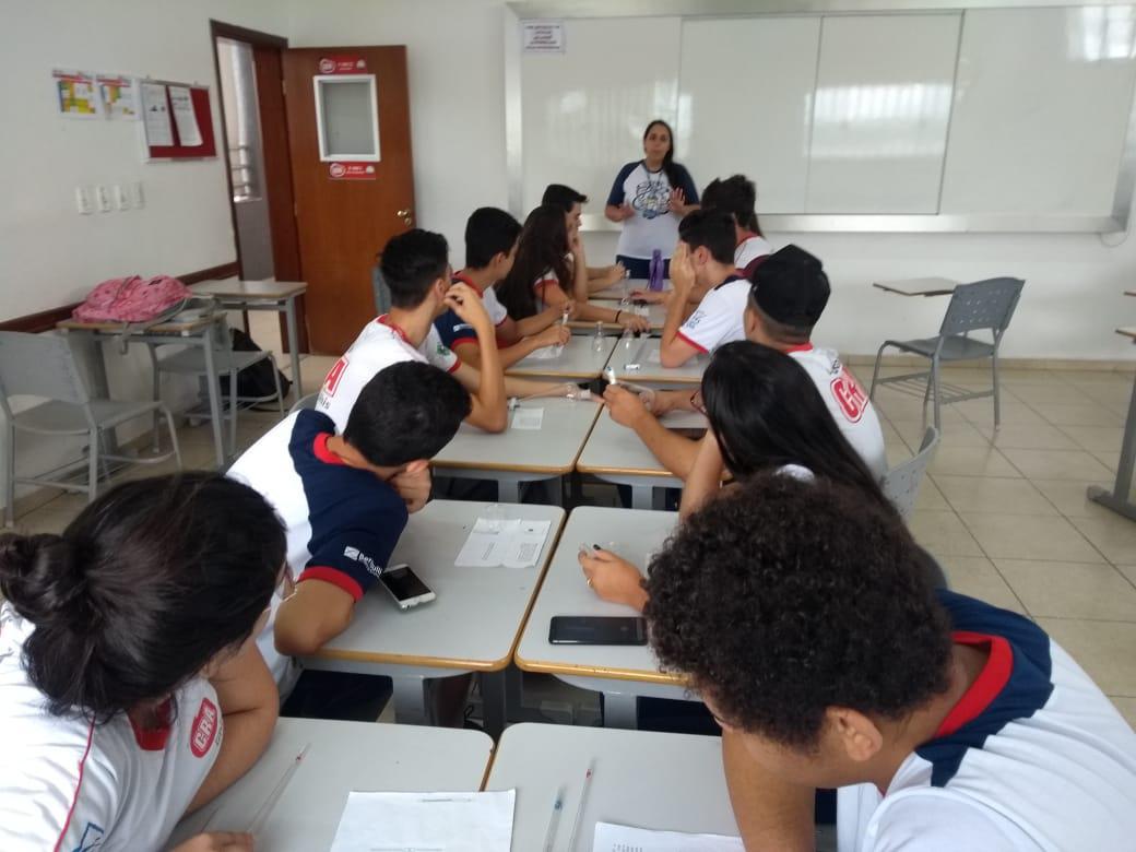 Ensino Fundamental II - aula de ciências