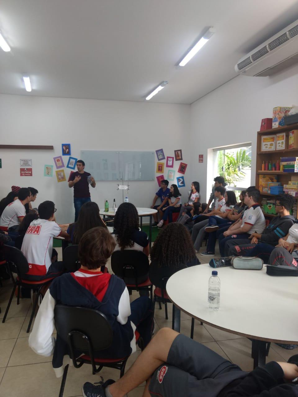 Ensino fundamental II - Interação com Ensino Médio