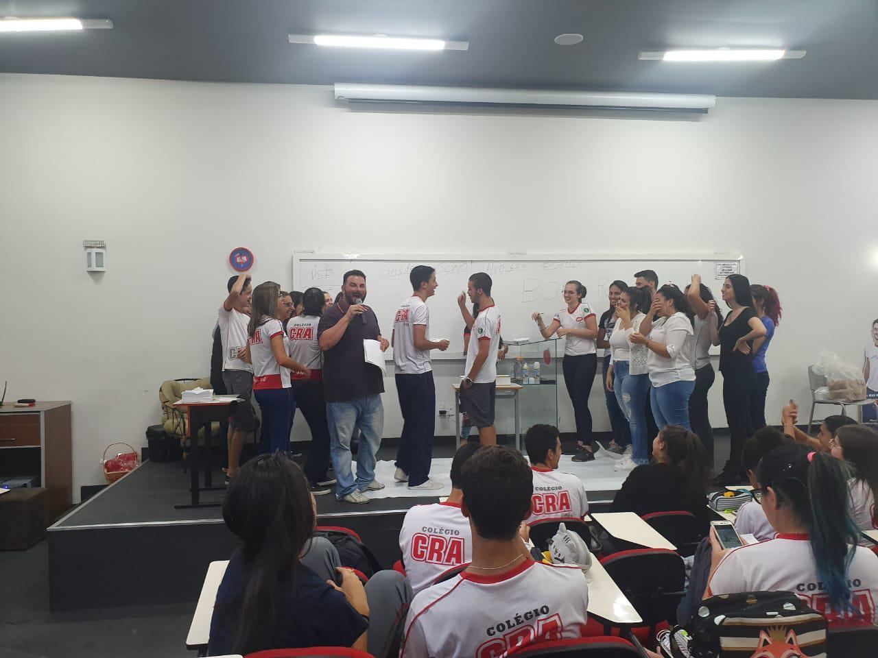 Ensino Médio - Competição entre séries - semana ENEM